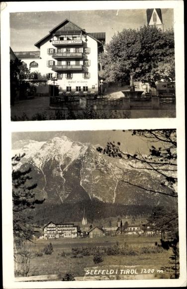 Foto Ak Seefeld in Tirol, Hotel, Panorama