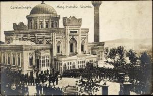 Ak Konstantinopel Istanbul Türkei, Mosquée Hamidié, Sélamlik