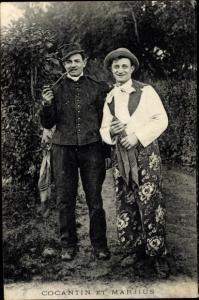 Ak Cocantin et Marjius, Zirkusartisten