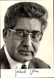 Ak Portrait von Gerhard Jahn, Bundesminister der Justiz, Politiker