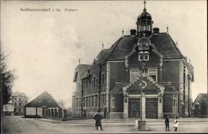 Ak Seifhennersdorf in Sachsen, Postamt