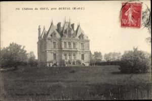 Ak Durtal Maine et Loire, Château de Gouy