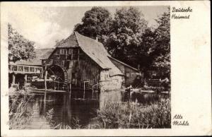 Ak Deutsche Heimat, Alte Wassermühle
