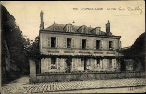 Ak Chevilly Loiret, La Villa