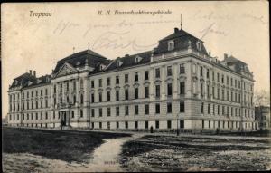 Ak Opava Troppau Reg. Mährisch Schlesien, K. K. Finanzdirektion