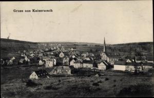 Ak Kaisersesch im Landkreis Cochem Zell Rheinland Pfalz, Panorama vom Ort