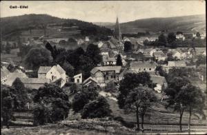 Ak Kall in Eifel in Nordrhein Westfalen, Panorama vom Ort