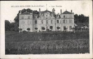Ak Selles Saint Denis Loir et Cher, Les Nouies