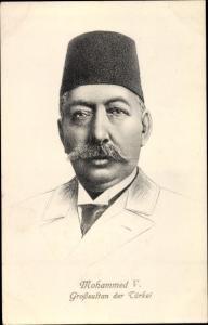 Künstler Ak Mohammed V., Großsultan der Türkei