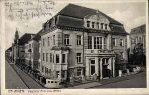 Ak Erlangen in Mittelfranken Bayern, Universitätsbibliothek
