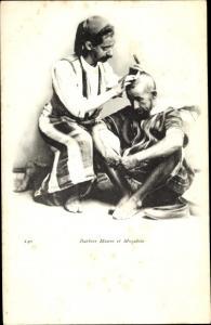 Ak Barbier Maure et Mozabite, Araber, Friseur, Maghreb