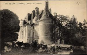Ak Selles Saint Denis Loir et Cher, Le Château