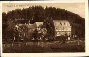 Ak Friedrichshütte Bad Laasphe im Kreis Siegen Wittgenstein, Hotel Fasanerie