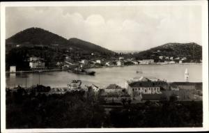 Ak Gruž Dubrovnik Kroatien, sa Lapadom, Panorama