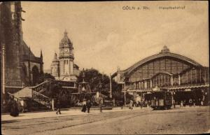 Ak Köln am Rhein, Hauptbahnhof
