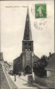 Ak Vallon en Sully Allier, L'Eglise