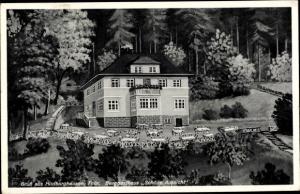 Ak Hildburghausen in Thüringen, Berggasthaus Schöne Aussicht, Inh. Dreßel