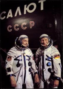 Ak Gemeinsamer Kosmosflug UdSSR/DDR, Waleri Bykowski, Sigmund Jähn