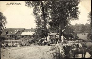 Ak Bourth Eure, Le Pont de la Fenderie
