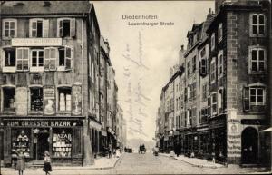 Ak Thionville Diedenhofen Lothringen Moselle, Luxemburger Straße