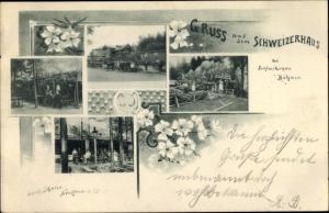 Ak Šluknov Schluckenau Region Aussig, Schweizerhaus