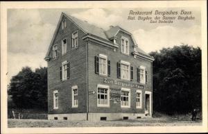 Ak Remscheid, Restaurant Bergisches Haus, Station Birgden der Barmer Bergbahn