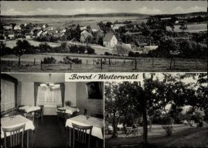 Ak Borod in Rheinland Pfalz, Ort, Privatpension Haus Gäfgen