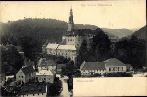 Ak Weesenstein Müglitztal in Sachsen, Schloss Weesenstein