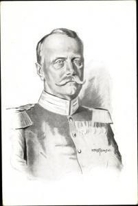 Künstler Ak Großherzog Friedrich II von Baden, Portrait