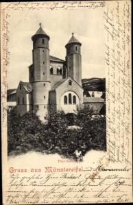 Ak Bad Münstereifel in Nordrhein Westfalen, Pfarrkirche