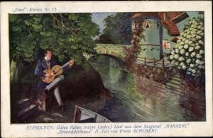 Lied Ak Leise flehen meine Lieder, Hannerl, Dreimäderlhaus, Franz Schubert