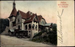 Ak Aachen in Nordrhein Westfalen, Waldschlösschen im Stadtwald