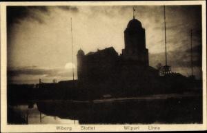Ak Wyborg Wiborg Viipuri Russland, Slottet