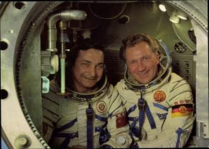 Ak Gemeinsamer Kosmosflug UdSSR/DDR, Siegmund Jähn, Waleri Bykowski