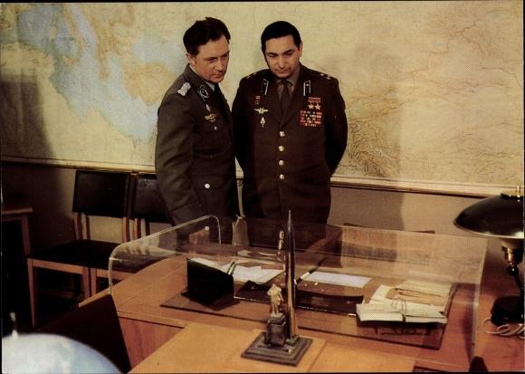 Ak Gemeinsamer Kosmosflug UdSSR/DDR, Siegmund Jähn, Waleri Bykowski 0