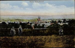 Ak Polch Kaisersesch im Landkreis Cochem Zell Rheinland Pfalz, Totalansicht von Ort