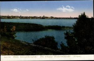 Ak Giżycko Lötzen Ostpreußen, Panorama