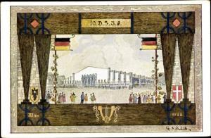 Ak Wien - 1, 10. Deutsches Sängerbundfest, Sängerhalle, Schüler