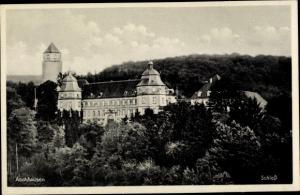 Ak Aschhausen Schöntal Baden Württemberg, Schloss