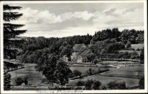 Ak Nümbrecht im Oberbergischen Kreis, Fremdenpension Waldhaus Friede