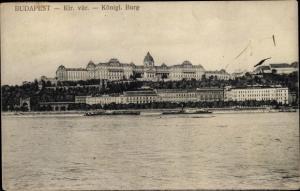 Ak Budapest Ungarn, Königliche Burg