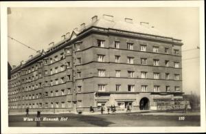 Ak Wien 3. Landstraße Österreich, Hanusch Hof