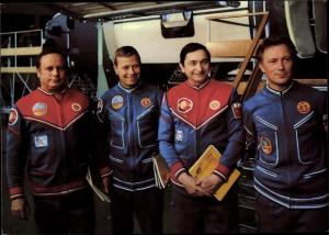 Ak Gemeinsamer Kosmosflug UdSSR und DDR, Kosmonauten