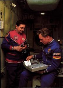 Ak Gemeinsamer Kosmosflug UdSSR und DDR, Kosmonauten Bykowski und Jähn