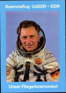 Ak Gemeinsamer Kosmosflug UdSSR und DDR, Fliegerkosmonaut Jähn