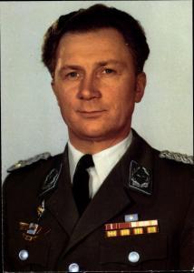 Ak Gemeinsamer Kosmosflug UdSSR und DDR, Fliegerkosmonaut Siegmund Jähn