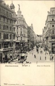 Ak Wien - 1, Ortsansicht, Stock im Eisenplatz