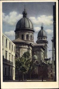 Ak Lwów Lemberg Ukraine, Christikirche