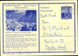Ak Partenen Gaschurn in Vorarlberg, Gesamtansicht