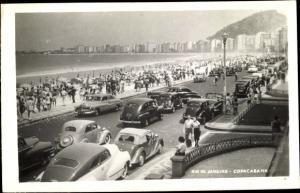 Ak Rio de Janeiro Brasilien, Coppacabana